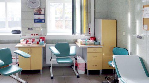Laboratorium przy ulicy Szylinga - miejsce pobierania krwi pacjentów